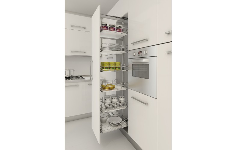 Full Height Pullout Pantry 1880 2180mm High Pull Out