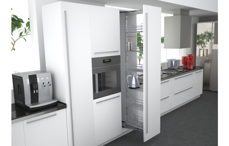 Full Height Pullout Pantry 1880 2180mm High Enko Group