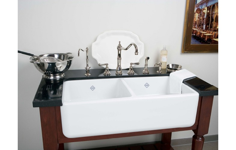 Shaws Classic Double Butler Sink