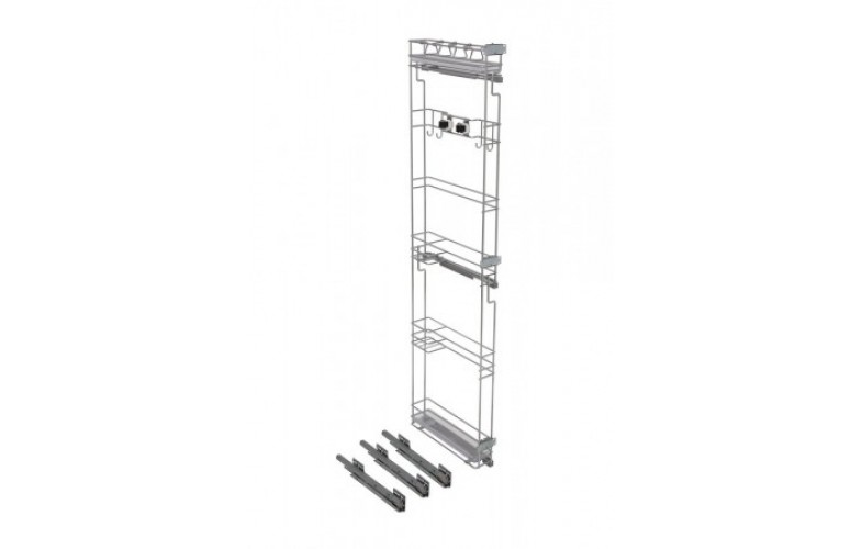 Pullout Broom Rack 150 Cabinet