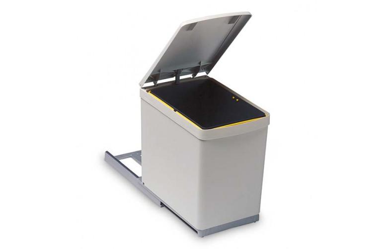 European Hand Pull Bin 300mm Cabinet - 16 Litre