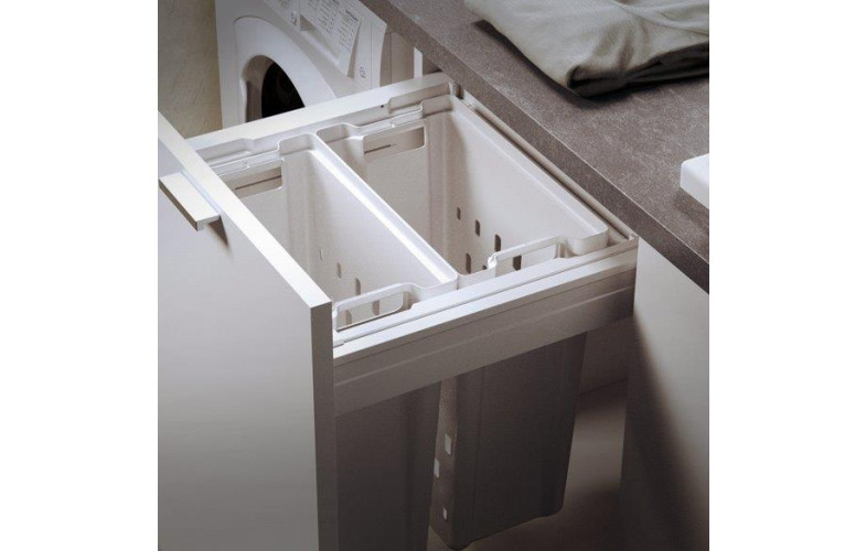 European Pullout Laundry Bins